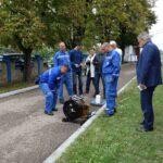 Local early flash flood warning system for Ričina basin