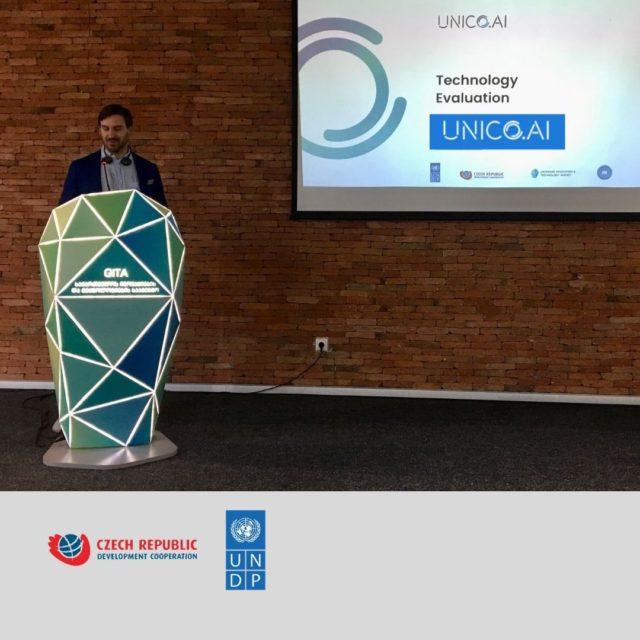 UNICO.ai presents their innovation